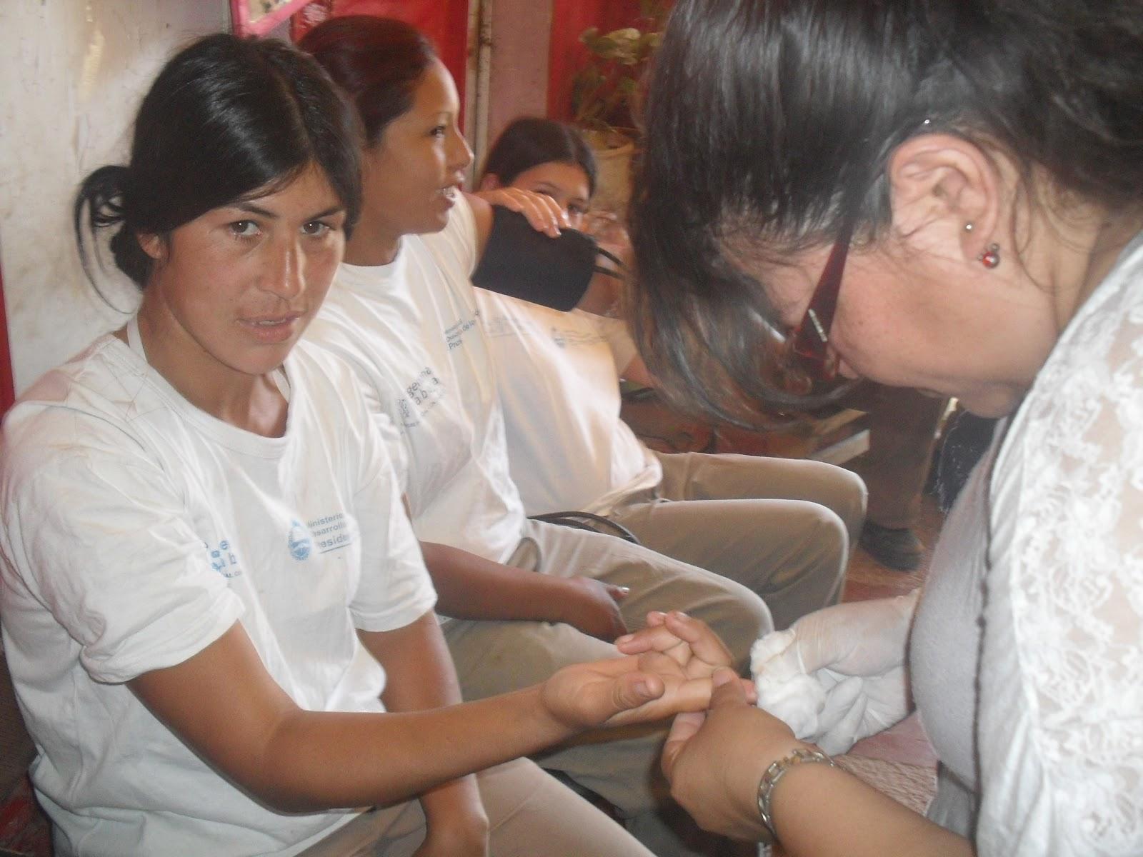 Llevan jvenes cristianos programa contra diabetes