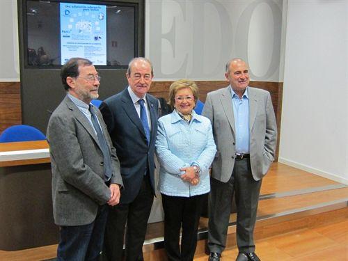 Francisco Labajos, Jaime Reinares, Trinidad Ordiz Y Edelmiro Menéndez